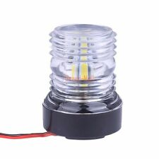 Dc 12v 2.2w Ip66 Splashproof Marine Boat Transom Round Stainless Steel Cold White Led Lighting Auto Vehicle Accessaries Superior Materials Atv,rv,boat & Other Vehicle