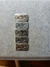 "10x 1g Scorpion Bars. **Free Vial of gold flakes"" from USA"