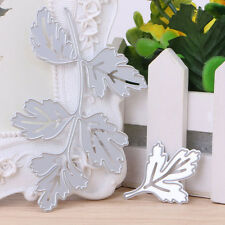 Leaves Metal Cutting Dies Stencil Scrapbook Paper Card Embossing DIY Craft Gift