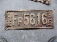1935 35 QUEBEC CANADA CANADIAN LICENSE PLATE NICE TAG FARMER PRIVATE CAR RARE