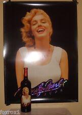 Marilyn Monroe Merlot 2003 Cabernet Napa Red Wine New Sealed Mint 22 x 30 Poster