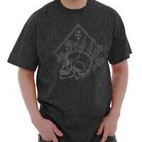 Floral Skull Spiritual Symbolic Graphic Gift Short Sleeve T-Shirt Tees Tshirts