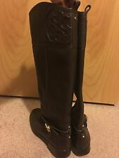 "TORY BURCH ""Marlene"" Women's Brown Fashion Knee-High Boots, Size 7.5"