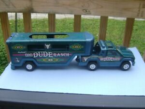 Nylint  Big Dude Ranch Truck and horse trailer # 024002,  free ship