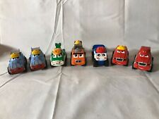 Lot 7 Tonka Lil Chuck & Friends Diecast Trucks Cars Mixer Tow truck