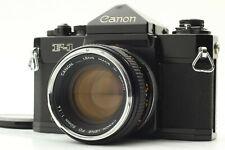 【NEAR MINT】 Canon F-1 35mm SLR Film Camera Body w/ FD 50mm f/1.4 lens From Japan