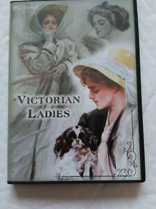 Victorian ladies pc cd_ rom Card Making birthdays ect
