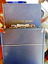Molly's Game promo script book w/poker metal case (outer book damage)B3