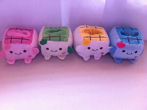 Kawaii Plush Japan Tofu Stuffed Doll Multipurpose Stationery Stand/ Phone Holder