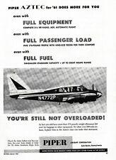1961 Piper Aztec Aircraft ad 6/16/19a