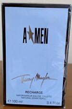 Thierry Mugler Angel for Men A*Men Eau de Toilette Spray Refill - 3.4 oz.Sealed
