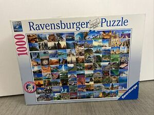 Ravensburger Puzzle 1000 Piece Jigsaw 99 Beautiful Places On Earth