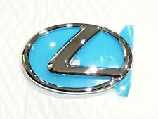 13-19 NEW LEXUS GS350 CHROME EMBLEM L REAR TRUNK 2013 2014 2015 2016 2017 2018