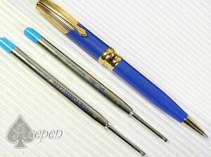 free ship Crocodile 405 high quality Ball point pen BLUE 2 POKY refills BLUE