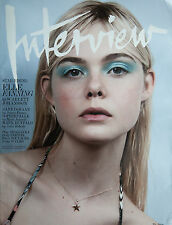 W Magazine Elle Fanning Scarlett Johansson Dane DeHaan Mark Ruffalo Kelly Slater