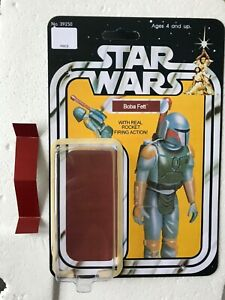 KIT BASHED ROCKET FETT PROTOTYPE  CARD BACK KIT HOME YOUR VINTAGE KENNER TOY