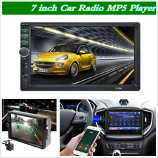 7 inch 2 Din HD car radio MP5 player touch screen FM AUX Mirror Link W/ Camera