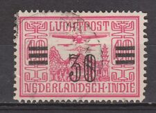 Nederlands Indie Indonesie 11 used Netherlands Indies luchtpost airmail 1930