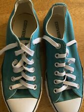 Converse All Star Aqua Low Top Tennis Shoes Men's 5 Woman's 7