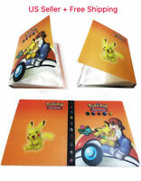 Pokemon Card Binder Portfolio Pocket Album Card  Portfolio Holder 240 Cards Q