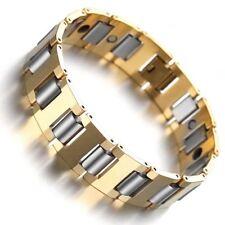 Magnetic Energy Bracelet Tungsten Carbide Arthritis Health Healing Wristband