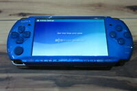 Sony PSP 3000 Console Vibrant Blue Japan K670
