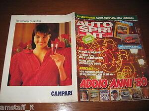 AUTOSPRINT 1989/51-52=GUIDA PARIGI-DAKAR=INSERTO IMMAGINI ADDIO ANNI '80=