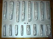 #ODL-02 - 16 CONCRETE LEDGESTONE MOLDS TO MAKE 1000s OF STONE VENEER WALL STONES