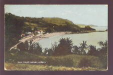 Jersey GOREY 1925 CDS POSTMARK on PPC ANN PORT