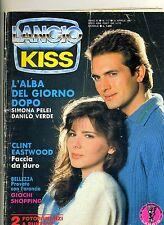 KISS # Mensile di Fotoromanzi - Anno XI - N.117 # 21 Aprile 1987 Lancio