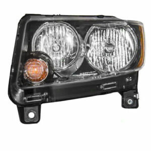 Fits For 2014 2015 2016 2017 Jeep Compass Headlight Left Side 68171215AB