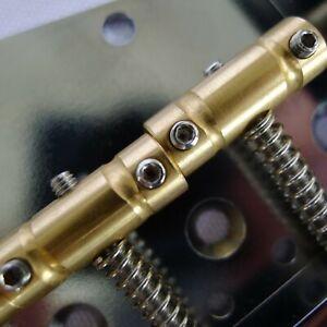Telecaster Compensated Brass Saddles Fit Vintage Tele Bridge