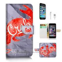 ( For iPhone 6 Plus / iPhone 6S Plus ) Case Cover P2566 Crab