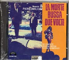 PIERO UMILIANI CD OST  Italy  LA MORTE BUSSA DUE VOLTE sigillato COLONNA SONORA