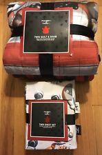 Five Nights at Freddy's Twin Quilt Sham & Twin Sheet Set NEWS FLASH