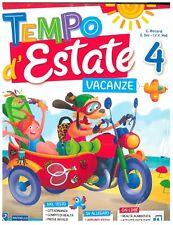 Tempo d'Estate 4° libro vacanze estive scuola primaria, RAFFAELLO SCUOLA