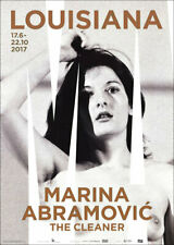 Marina ABRAMOVIC The Cleaner 2017 Museum Exhibition Poster 33 x 23-1/2