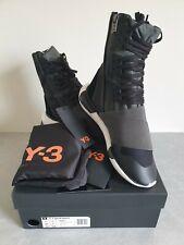 Adidas Y-3 Y3 Yohji Yamamoto Qasa Hi High Sneaker Trainer Size UK 7 Black BNIB