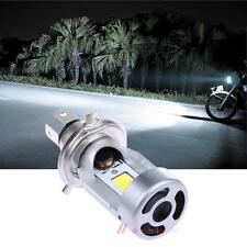 H4 Motorcycle LED Headlight Hi Lo 20W 2000LM HS1 COB White Lamp Bulbs 20W