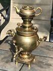 Russian Brass Samovar Tzar Imperial Tula BATASHOV Rarest Antique Finest Quality