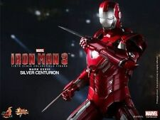 "Hot Toys 12"" Iron Man 3 Mms213 Silver Centurion Mk33 Mark XXXIII Special Edition"