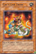 3x Cat's Ear Tribe - MFC-081 - Rare - 1st Edition MFC - Magician's Force YuGiOh