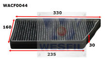 WESFIL CABIN FILTER FOR Peugeot 206 2.0L 2000-2007 WACF0044