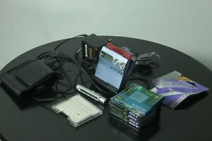 Sony Minidisc Walkman MZ-N910 NetMD Fully Working New Battery and 5 Blank Disks