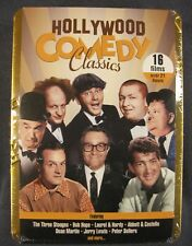 Hollywood Comedy Classics 3 Stooges Abbott Costello Laurel Hardey New Sealed Tin