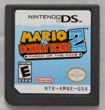 Nintendo Mario Vs Donkey Kong 2 Game Card for 3DS NDSI DSI DS US Seller