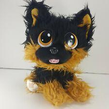 "Kidz Delight Puppy Dog Brown Black 8"" Plush Stuffed Animal KD Group Rare"