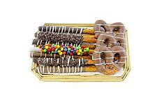 Sugar Plum Chocolates - Gourmet Pretzel Tray - Chocolate Covered