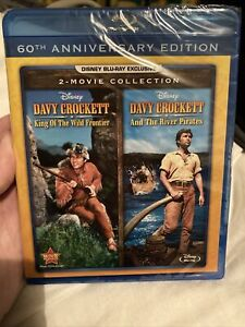 Davy Crockett King Of The Wild Frontier And The River Pirates Blu-ray NEW Davey