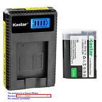 Kastar Battery LCD USB Charger for Nikon Original EN-EL15 Nikon Genuine MH-25A